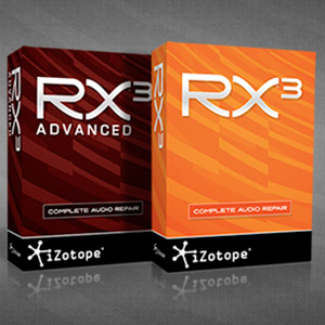 iZotope RX 3 & RX 3 Advanced