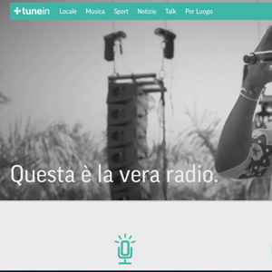 MUSIC SELECTION SU TUNEIN